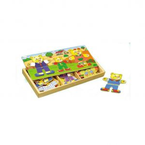BİG POİNT AHŞAP PUZZLE ELBİSE GİYDİRME 93768