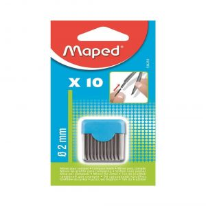 MAPED 2MM KURŞUN KALEM UCU 10 LUK BLİSTER 134210